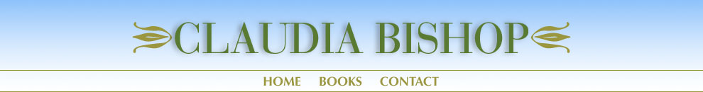claudia bishop site navigation: home, books, media materials, contact